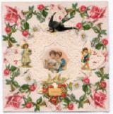 Victorian Valentine, Vintage Valentine, Antique Valentine, Estate Valentine, Valentine, vintage Valentine, Valentine, ephemera