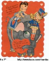 Vintage Valentine, Mechanical Valentine, Valentine, Valentine ephemera, old Valentine, Victorian Valentine, estate Valentine, antique Valentine, valentine jewelry, valentine pendants, valentine lockets, valentine necklaces, valentine earrings,